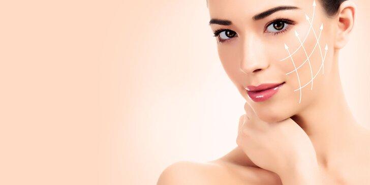 Detoxikačná liftingová masáž tváre a dekoltu prístrojom Slim Wave
