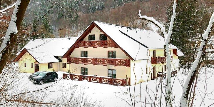 Wellness pobyt s lyžovačkou na Chopku a polpenziou v Penzióne Bystrinka **. Deti do 12 rokov zadarmo!