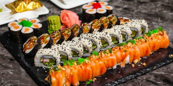 XXL Sushi menu (42 kúskov) v Sushi bare Sunshine v Auparku