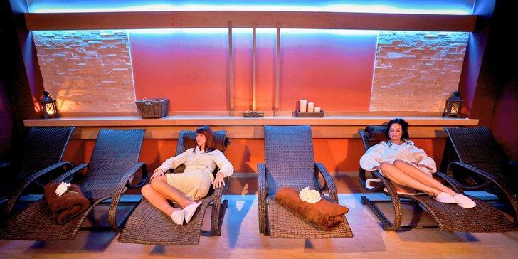 Božská relaxácia pre 2 v historickom Tábore: neobmedzené wellness i gastro zážitky
