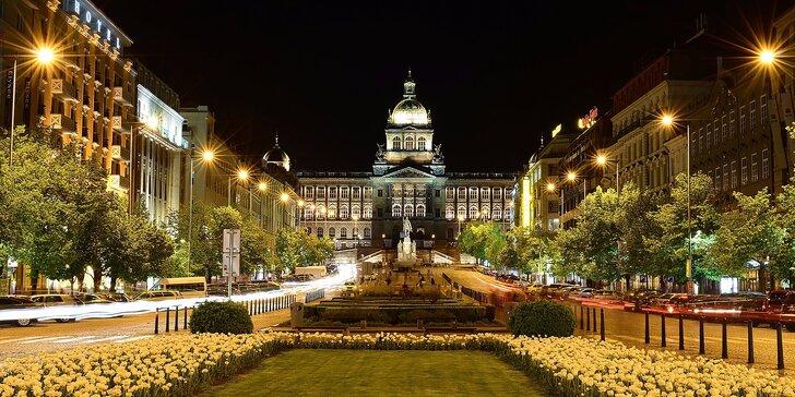 Exkluzívny JALTA Boutique Hotel***** Praha s garantovaným výhľadom na Václavske námestie