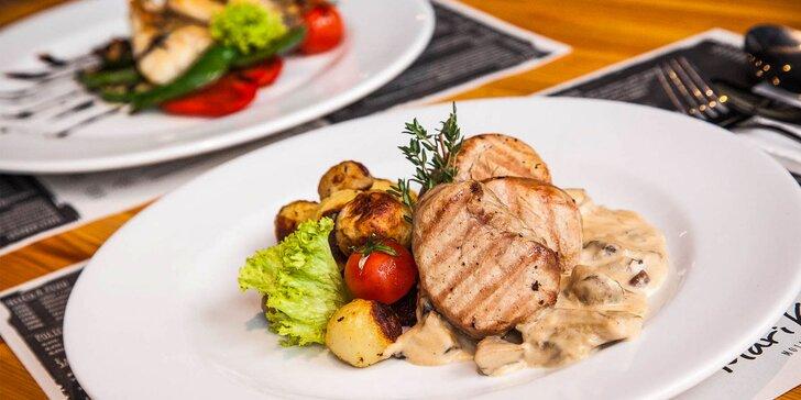 Vyskladajte si svoje 3-chodové menu v Mari Kiri!