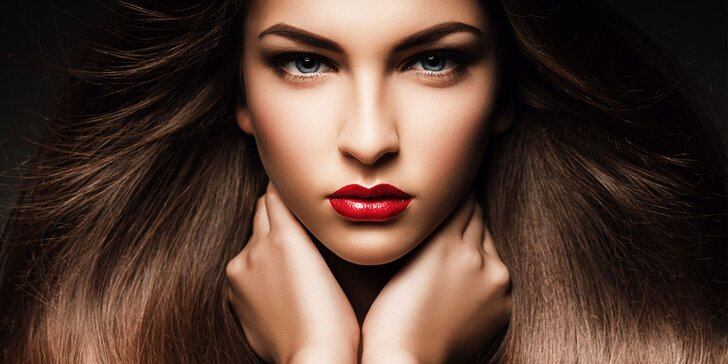 Profesionálne líčenie so stylingom vlasov alebo kompletná premena s možnosťou profi fotenia