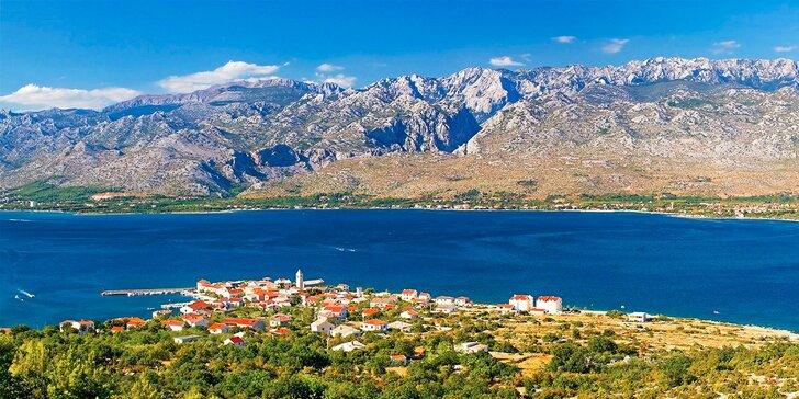 LETO v luxusnej vile Dalmatínka priamo pri mori - Paklenica Chorvátsko