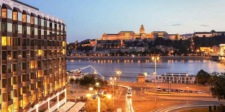 4 dni s raňajkami, wellness a plavbou po Dunaji v 5* hoteli v Budapešti