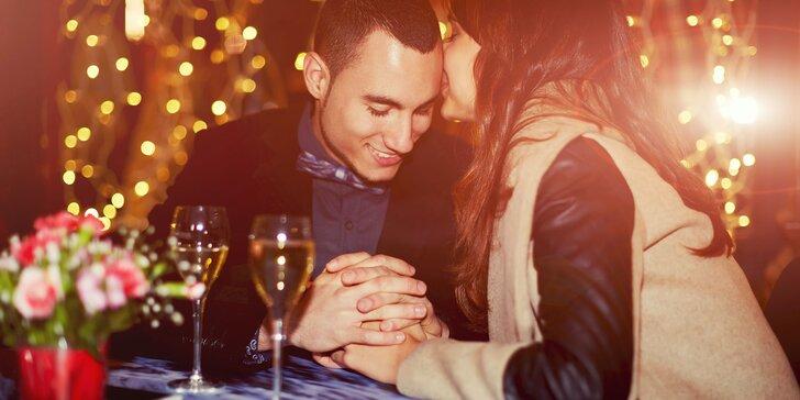Exkluzívne romantické menu od šéfkuchára Cisára s bohatým wellness