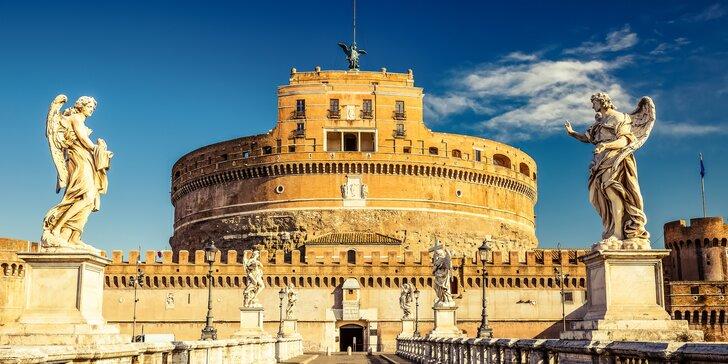 5 dní v Ríme s kúpaním v Ostii