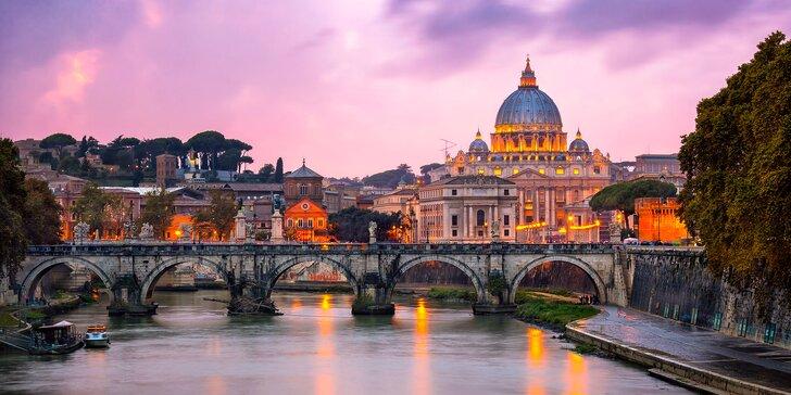 Talianske skvosty: Rím, Florencia, Verona, Benátky s ubytovaním a raňajkami