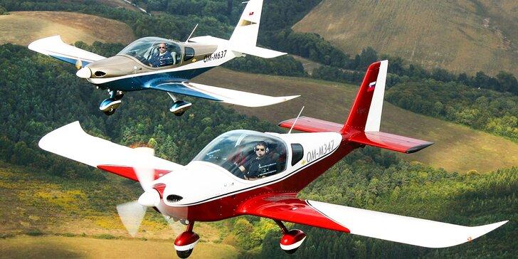 Valentínsky darček - let lietadlom Viper SD4 s možnosťou pilotovania