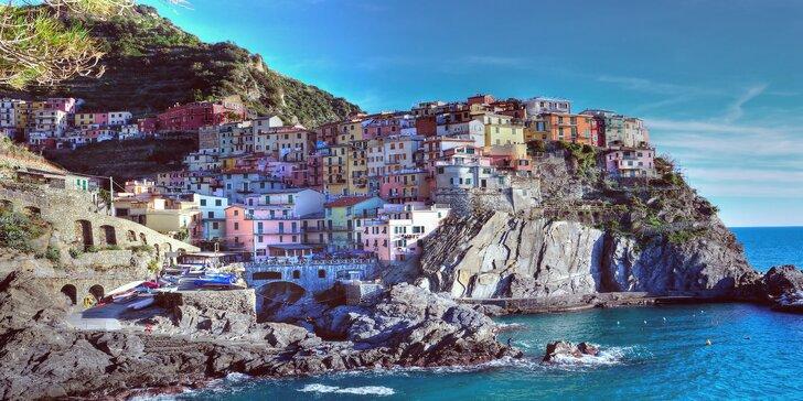 Pestrofarebná Ligúrska riviéra - San Remo, Janov, Portofino, národný park Cinque Terre