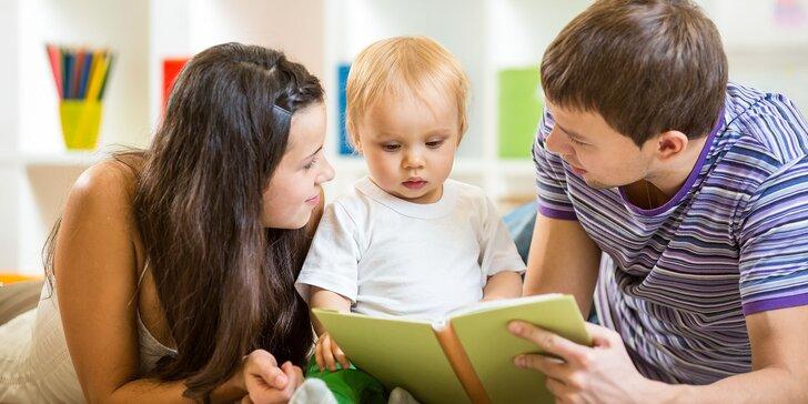 Rodičovský kurz - zvládnite výchovu svojich detí už od plienok