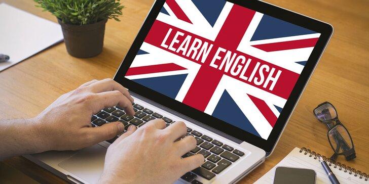 ONLINE KURZ ANGLIČTINY medzinárodnej kvality s certifikátom!