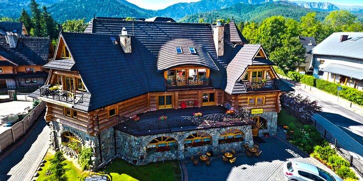 Pobyt v najkrajšom goralskom penzióne v Zakopanom!