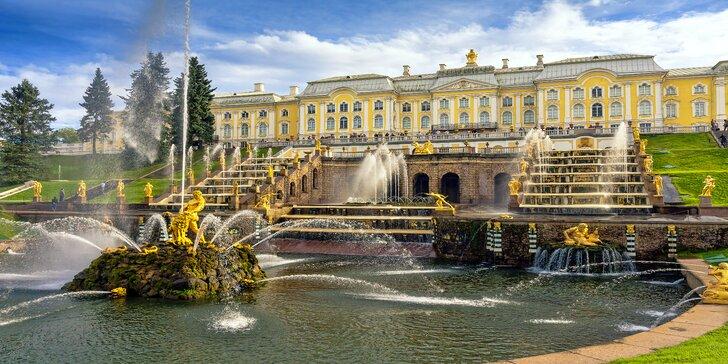 9-dňový zájazd do úžasného Petrohradu a okruh Pobaltskými republikami