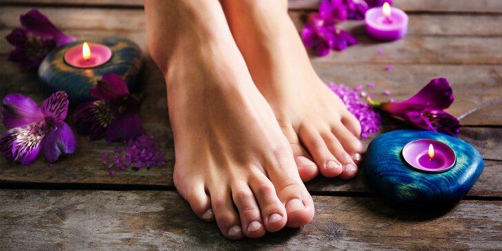 Mokrá, kombinovaná alebo wellness pedikúra