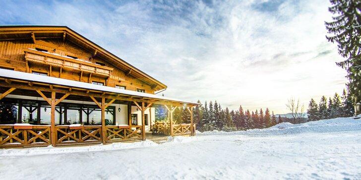 Wellness a lyžovačka v horskom Hoteli Martiňák*** na hrebeni Beskýd