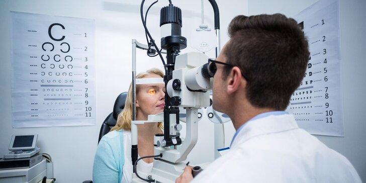 Vyšetrenie zrakovej ostrosti a zľava na nové okuliare