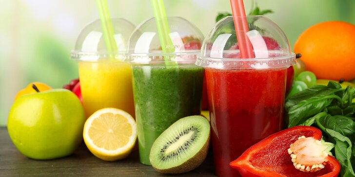 Čerstvá 100% ovocná šťava - nepasterizovaná