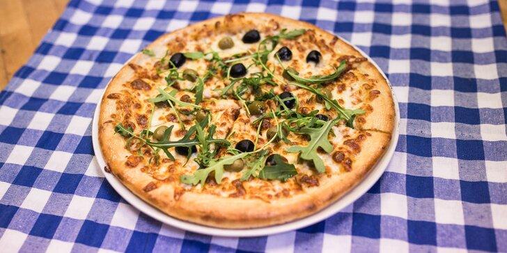Skvelá chrumkavá pizza - až 12 druhov na výber!
