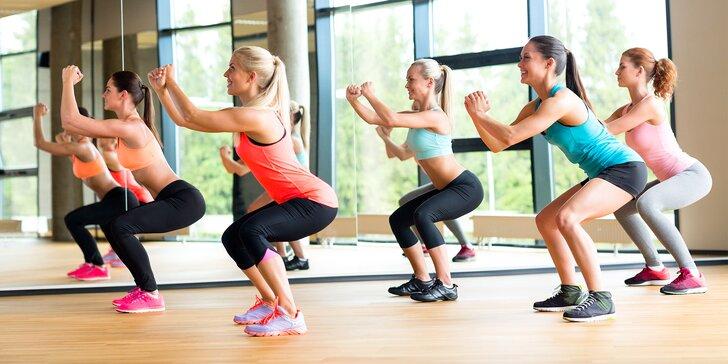 Vstup na skupinové cvičenie alebo tréning s osobnou trénerkou