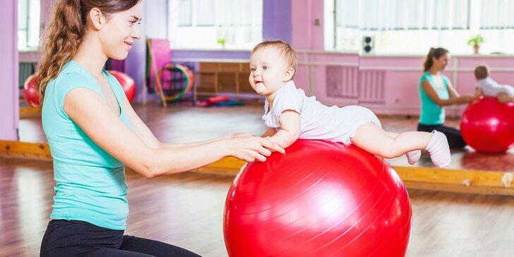 Cvičenie pre deti vo veku od 6 do 8 mesiacov