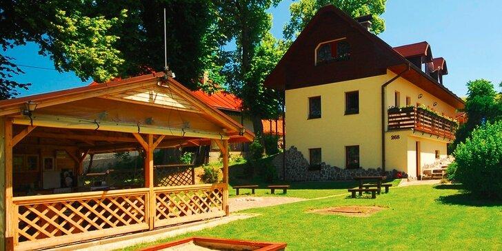 Atraktívne apartmány ADA v krásnej časti Slovenka na Liptove