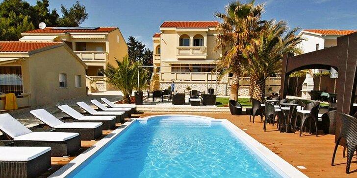 8 dní v luxusnom apartmán resorte na chorvátskom ostrove Vir