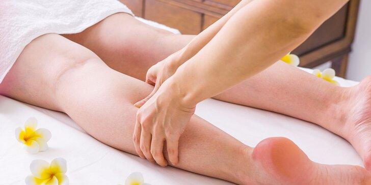 Klasická masáž tela či lymfodrenážna masáž nôh