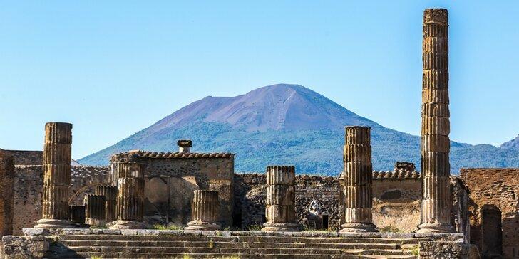 5-dňový zájazd: Rím, Vatikán, Vezuv, Pompeje, Herculaneum, Ischia
