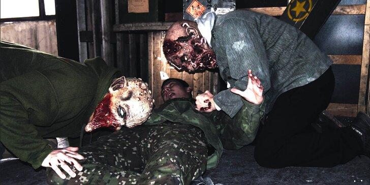 Zombie night laser wars s komparzistami pre 6 hráčov