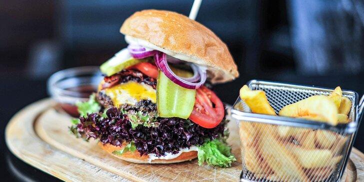 Bacon burger, bezlepkový burger alebo pizza burger!
