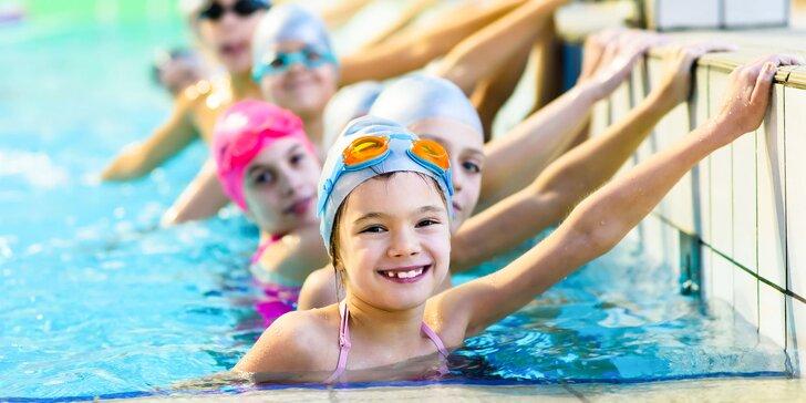 Prihláste svoje deti na pohybovú prípravu - cvičenie a plávanie