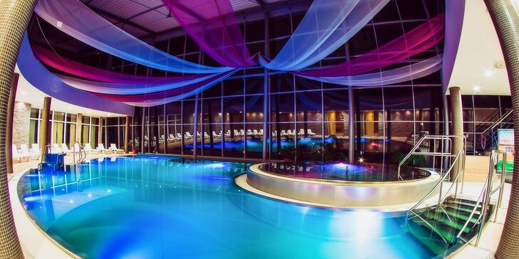 3 hodiny vo Wellness & SPA centre TOP hotela Aquatermal***