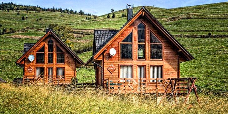 Luxusné ubytovanie v chatách v Ždiari