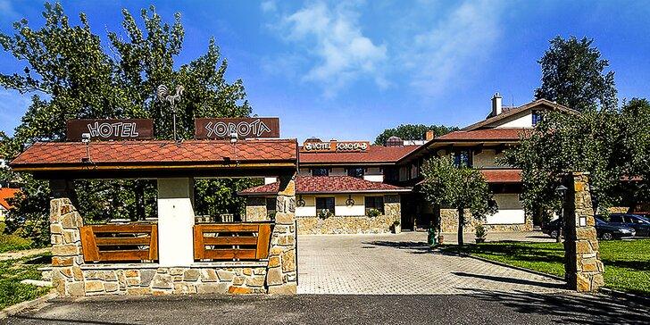 Letný pobyt v Hoteli Sobota*** s 20% zľavou do Aquacity Poprad