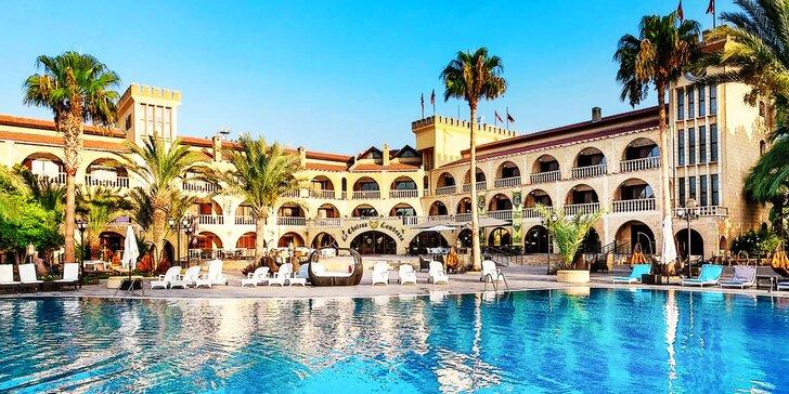 8-dňový letecký zájazd na Severný Cyprus do 4* hotela LE CHATEAU LAMBOUSSA