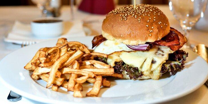 XXL Hovädzí burger alebo vegetariánsky burger