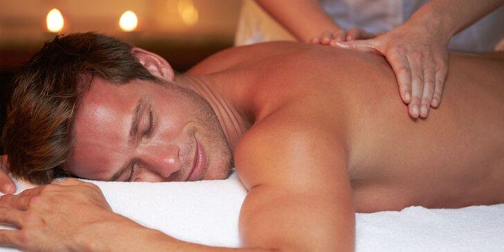 Vyberte si z masáží. Relaxačné balíčky pre ženy i mužov