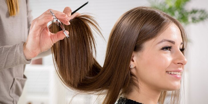 Regenerácia a natočenie vlasov, botoxová maska alebo blond melír