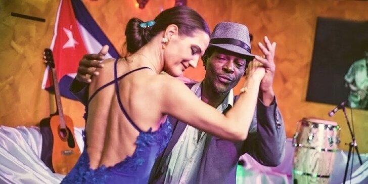 Pravá kubánska salsa s kubánskym profesionálnym tanečníkom!
