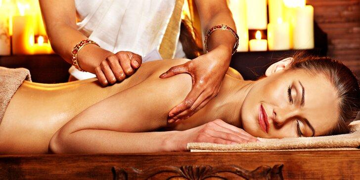 Ayurvédska detoxikačná masáž s omladzujúcou maskou