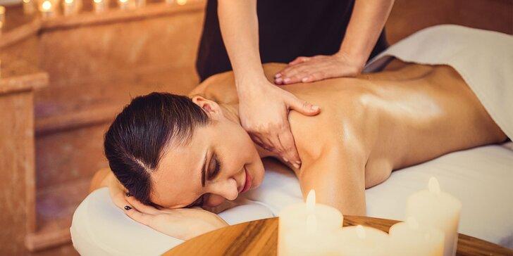 Relaxačná masáž, celotelová klasická alebo klasická s bankovaním