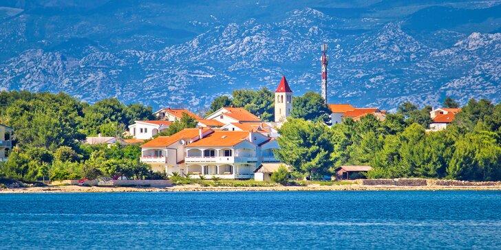 Leto vo ville Janka v apartmánoch len 40 m od mora - Vir Chorvátsko