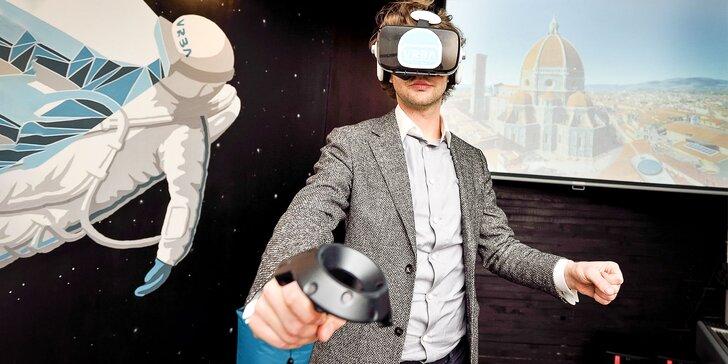 Straťte hlavu vo virtuálnej realite. Jedinečný zážitok!