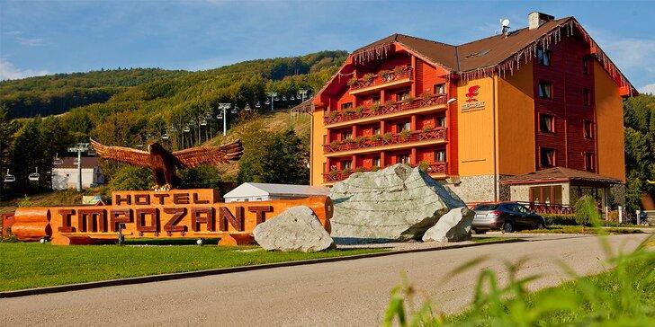 Luxusný wellness pobyt v srdci Valčianskej doliny v Hoteli Impozant****