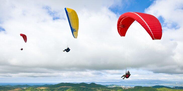 Trojdňový základný kurz paraglidingu