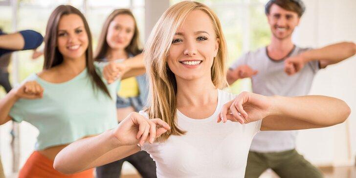 Mesačný vstup na DANCE & FITNESS v DanceArt škole tanca