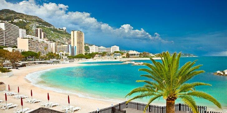 Provence, Marseille, ostrov If, Cannes a Monaco s ubytovaním