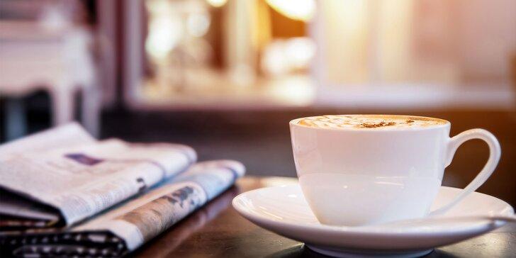 Vychutnajte si včerajšie noviny pri šálke kávy s prekvapením