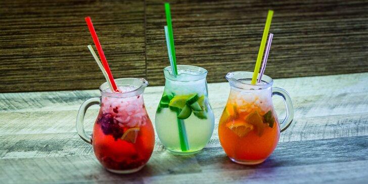 Ponuka osviežujúcich limonád a drinkov